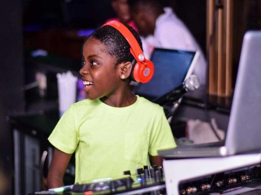 DJ africana de diez años que deja en ridículo a David Guetta