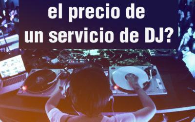 Servicio de DJ. Como calcula el precio?