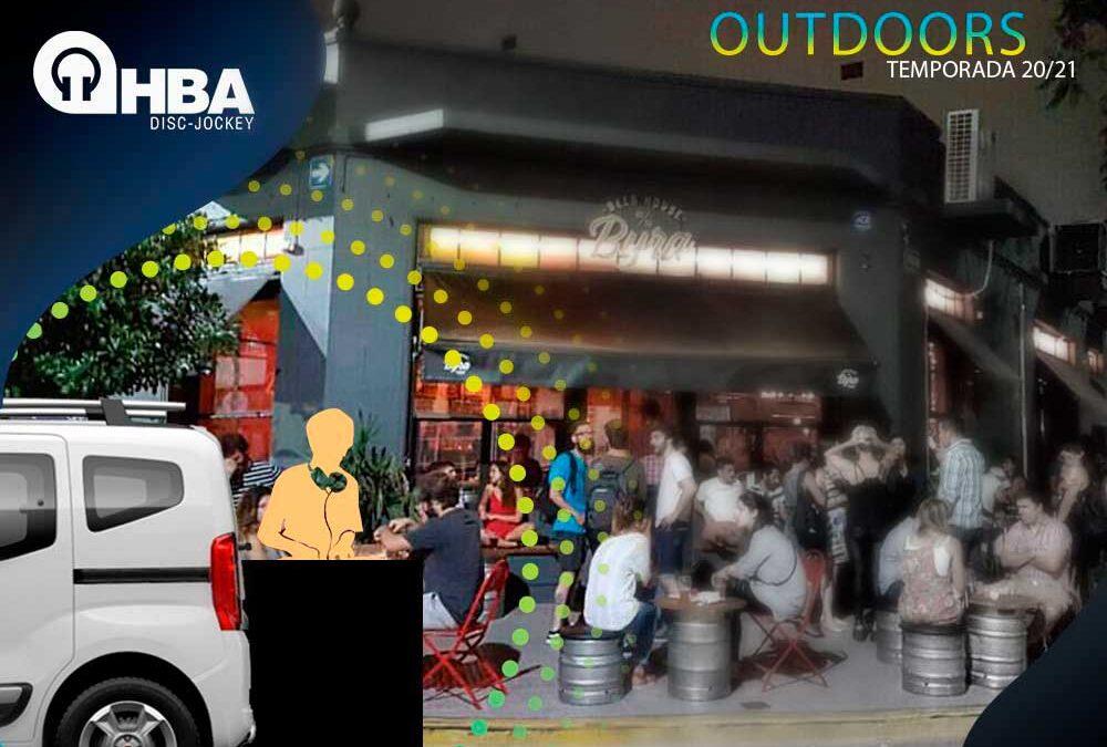 Dj Móvil Outdoors, lo que viene para bares y reuniones